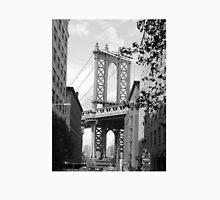 Manhattan bridge BW Unisex T-Shirt