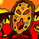 attack of the angry pizzas   by StuartBoyd
