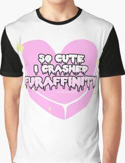 Furry Fandom - So Cute I Crashed Furaffinity (2) Graphic T-Shirt