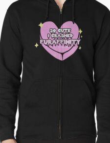 Furry Fandom - So Cute I Crashed Furaffinity (2) T-Shirt