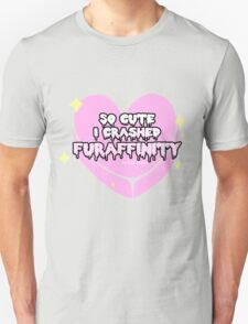 Furry Fandom - So Cute I Crashed Furaffinity (2) T-Shirt