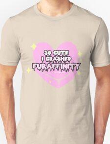 Furry Fandom - So Cute I Crashed Furaffinity (2) Unisex T-Shirt