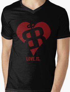 Love. Is. Mens V-Neck T-Shirt