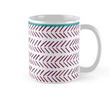 Claret Chevrons  Mug