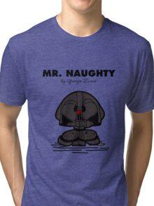 Mr Naughty Tri-blend T-Shirt