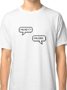 "Jeff x Annie- ""Milady? Milord."" Classic T-Shirt"
