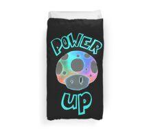 Mario Power Up Mushroom  Duvet Cover