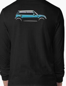 MINI, CAR, BLUE, BMW, BRITISH ICON, BRITAIN, UK, MOTORCAR Long Sleeve T-Shirt