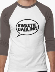 """Sweetie, Darling"" - Absolutely Fabulous Men's Baseball ¾ T-Shirt"