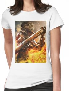 Metal Gear Rising Womens Fitted T-Shirt