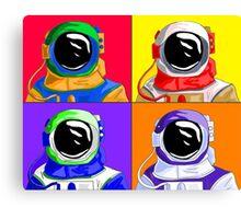 Super Astronaut Canvas Print