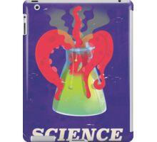 Funny vintage science experiment vintage poster iPad Case/Skin