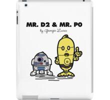 Mr D2 & Mr P0  iPad Case/Skin