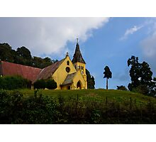 Afternoon glow on St. Andrews Church, Darjeeling Photographic Print