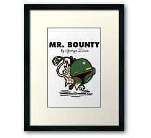 Mr Bounty Framed Print