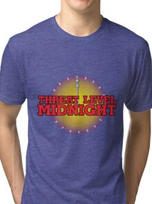 Threat Level Midnight Tri-blend T-Shirt