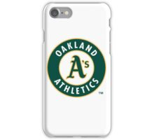 oakland athletic iPhone Case/Skin
