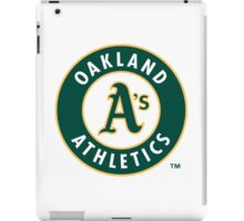 oakland athletic iPad Case/Skin