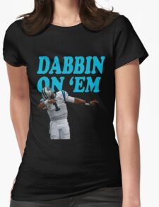 Dab on em style Womens Fitted T-Shirt