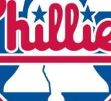 philadhelpia phillies Sticker