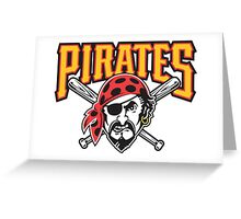 pitsburgh pirates Greeting Card
