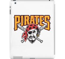 pitsburgh pirates iPad Case/Skin