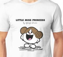 Little Miss Princess Unisex T-Shirt