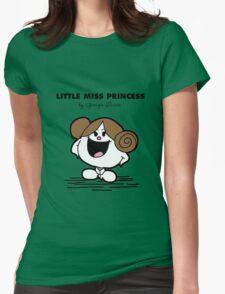 Little Miss Princess Womens Fitted T-Shirt