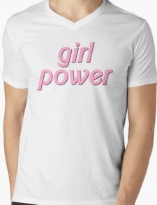 GIRL POWER Mens V-Neck T-Shirt