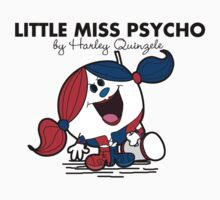 Little Miss  Psycho Kids Tee