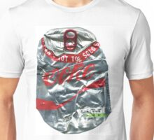 Diet Coke - Crushed Tin Unisex T-Shirt