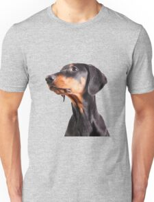 doberman pinscher Unisex T-Shirt