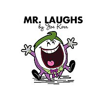 Mr Laughs Photographic Print