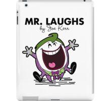 Mr Laughs iPad Case/Skin