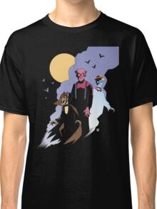 Mike Mignola style Count Chocula, Franken Berry, and Boo-Berry Classic T-Shirt