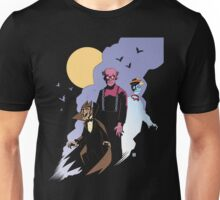 Mike Mignola style Count Chocula, Franken Berry, and Boo-Berry Unisex T-Shirt