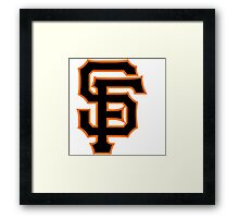 san francisco giants Framed Print