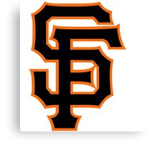 san francisco giants Canvas Print