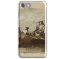 Maria Fortuny, Reus, – Rome,  Serenade on the Lagoons iPhone Case/Skin
