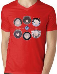 Lastation Guardians v2 Mens V-Neck T-Shirt