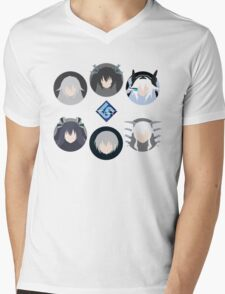 Lastation Guardians v2 Mens V-Neck T-Shirt