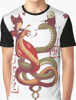 Dancing snakes Graphic T-Shirt