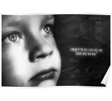 Child in war Poster