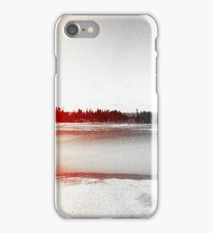 Digital Landscape #10 iPhone Case/Skin