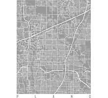 Plano map grey Photographic Print