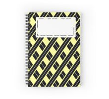 Hufflepuff Colours Spiral Notebook