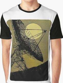 Satellite Dish 1965 Graphic T-Shirt