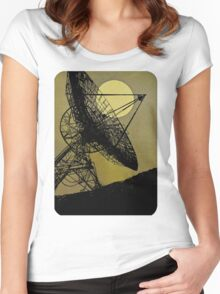 Satellite Dish 1965 Women's Fitted Scoop T-Shirt