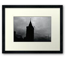 St Andrews Silhouette Framed Print