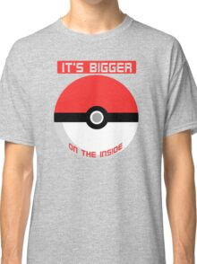 Pokemon - It's bigger on the inside.. Classic T-Shirt